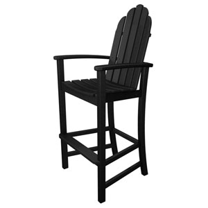 Adirondack Dining Black Bar Height Chair