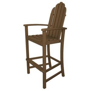 Adirondack Dining Teak Bar Height Chair