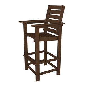 Captain Mahogany Bar Height Chair