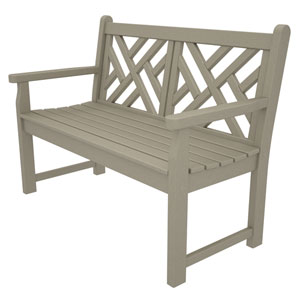 Chippendale Sand 48 Inch Bench