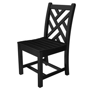 Chippendale Black Dining Side Chair