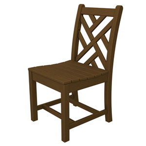 Chippendale Teak Dining Side Chair