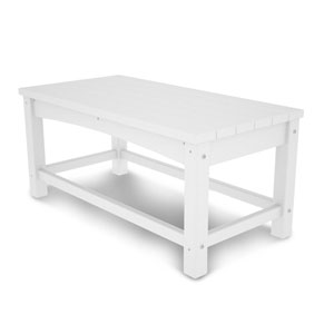 White Club Coffee Table