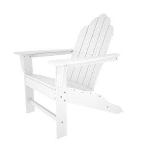Long Island Adirondack White Chair