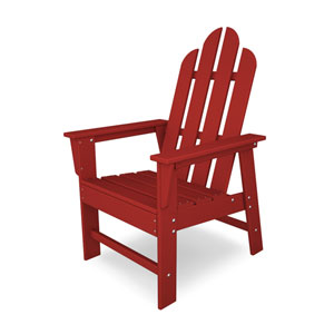 Long Island Adirondack Sunset Red Dining Chair