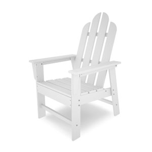 Long Island Adirondack White Dining Chair
