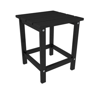 Long Island Adirondack Black 18 Inch Side Table