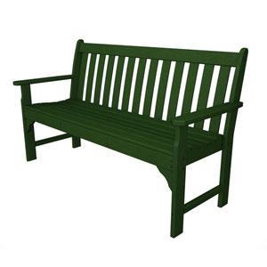 Vineyard Green 60 Inch Bench