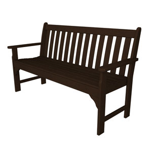 Vineyard Mahogany 60 Inch Bench