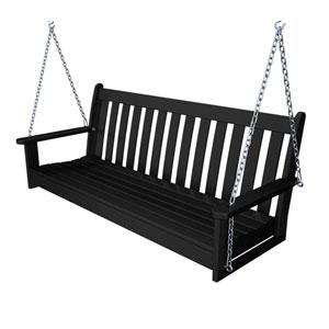 Vineyard Black 60 Inch Swing