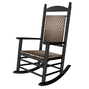 Rocker Black and Cahaba Jefferson Woven