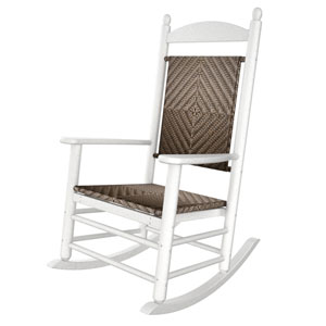 Rocker White and Cahaba Jefferson Woven