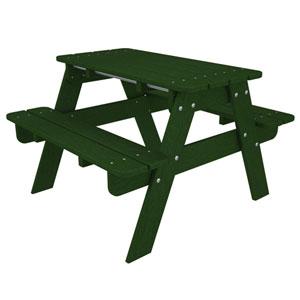 Kid Green Picnic Table