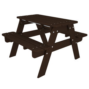 Kid Mahogany Picnic Table