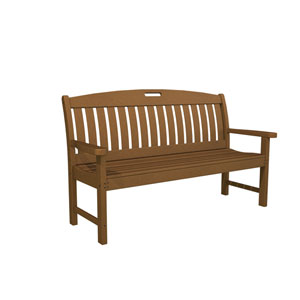 Nautical Teak 60 Inch Bench