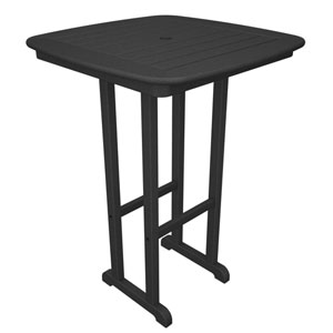 Nautical Slate Grey 31 Inch Bar Height Table