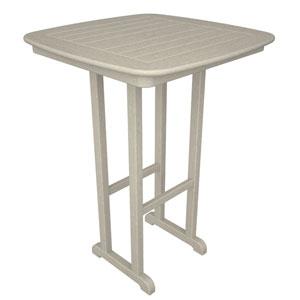 Nautical Sand 31 Inch Bar Height Table