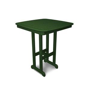 Nautical Green 37 Inch Bar Height Table