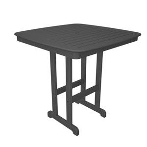 Nautical Slate Grey 44 Inch Bar Height Table