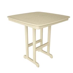 Nautical Sand 44 Inch Bar Height Table