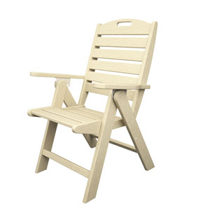 Nautical Sand Highback Chair