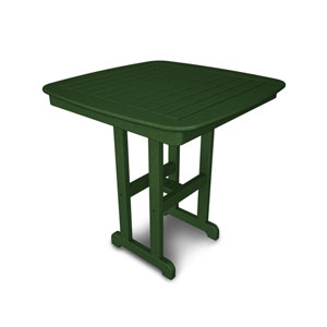 Nautical Green 37 Inch Counter Height Table