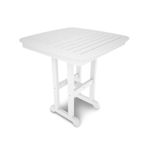 Strange C R Plastic Products St Tropez 28 Inch Square Counter Gmtry Best Dining Table And Chair Ideas Images Gmtryco