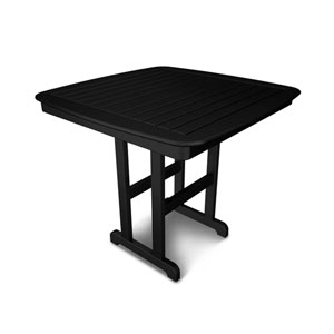 Nautical Black 44 Inch Counter Height Table