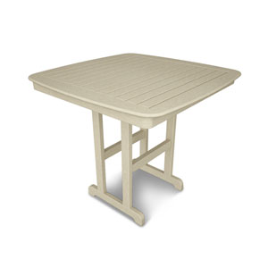 Nautical Sand 44 Inch Counter Height Table