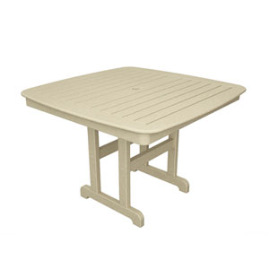 Nautical Sand 44 Inch Dining Table