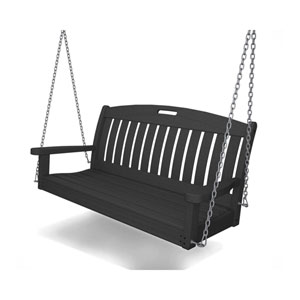 Nautical 48 Inch Swing in Slate Grey