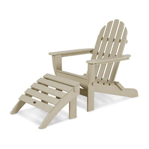 Classic Adirondack Two-Piece Set in Sand
