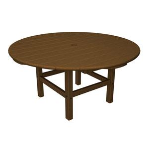 Teak Round 38 Inch Conversation Table