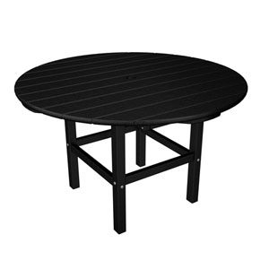 Kid Black 38 Inch Dining Table