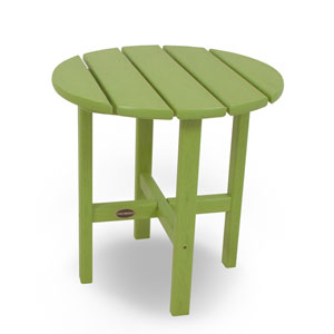 Lime Round 18 Inch Side Table
