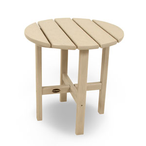 Sand Round 18 Inch Side Table