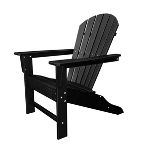 South Beach Adirondack Black Chair