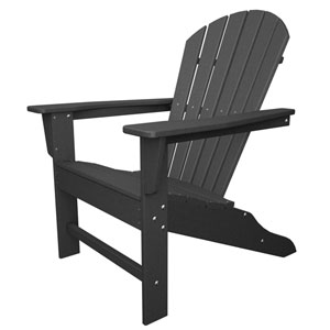 South Beach Adirondack Slate Grey Chair