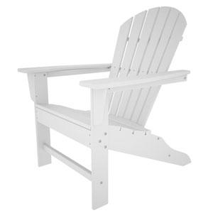 South Beach Adirondack White Chair