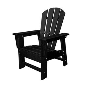 South Beach Adirondack Black Kid Chair