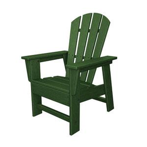 South Beach Adirondack Green Kid Chair