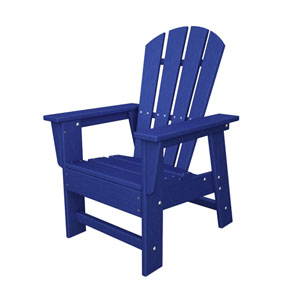 South Beach Adirondack Pacific Blue Kid Chair