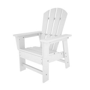South Beach Adirondack White Kid Chair