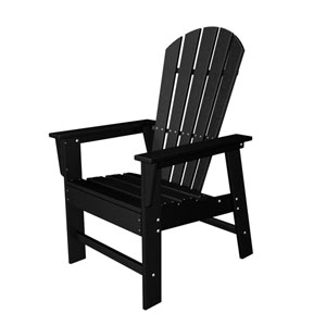 South Beach Adirondack Black Dining Chair