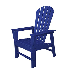 South Beach Adirondack Pacific Blue Dining Chair