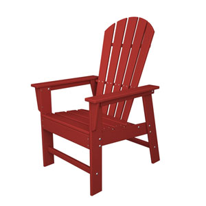 South Beach Adirondack Sunset Red Dining Chair
