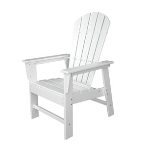 South Beach Adirondack White Dining Chair