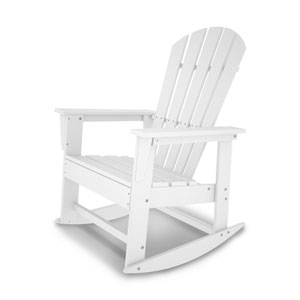 South Beach Adirondack White Rocker