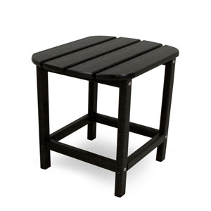 South Beach Adirondack Black 18 Inch Side Table