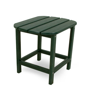 South Beach Adirondack Green 18 Inch Side Table